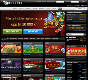 titan casino main